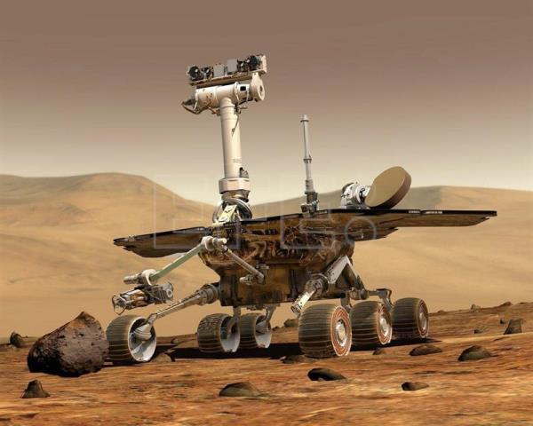 "NASA officially declared the Opportunity Mars rover to be ""dead"" on Feb. 13, 2019, after it had survived and explored the Red Planet for some 15 years. Contact was lost with the six-wheeled probe last June during a huge Martian dust storm and never recovered. EFE-EPA/File"