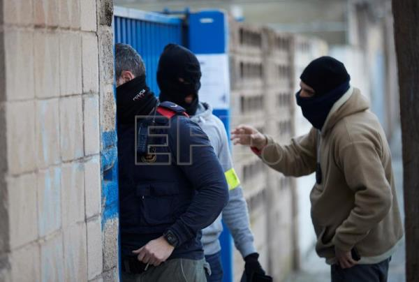 Spanish regional police launch operation against international drug network