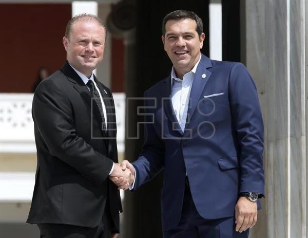 Tsipras emphasizes Mediterranean unity at southern EU member summit