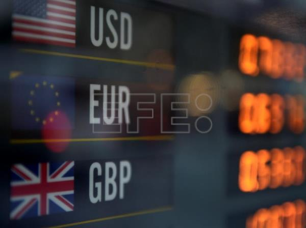 Foreign Currency Exchanges Are Seen Displayed On A Board In Sydney New South Wales