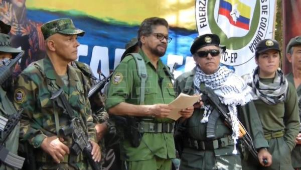 Colombian opposition rejects former FARC leader's rearmament, calls for peace