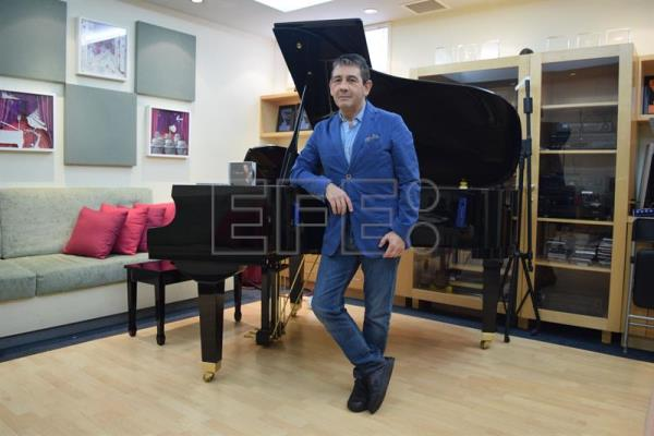 Photo provided on Apr. 19, 2017 showing  composer and musical producer Placido Domingo Jr., the son of the famous and same-named Spanish tenor, during an interview with EFE in Miami, United States on Apr. 18, 2017. EFE/Jorge I. Perez