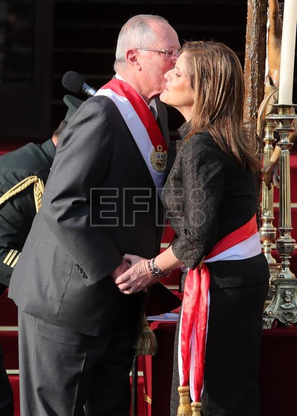 Economist Mercedes Araoz sworn in as Peru's new prime minister