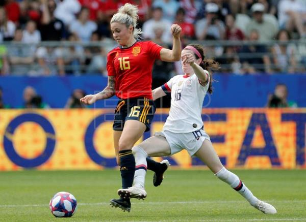 US edge Spain 2-1 to advance to Women's World Cup quarterfinals