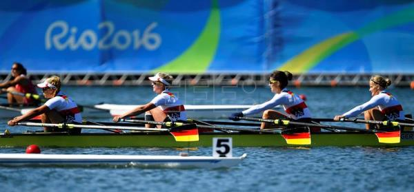 Germany wins gold in men's and women's quadruple sculls ...