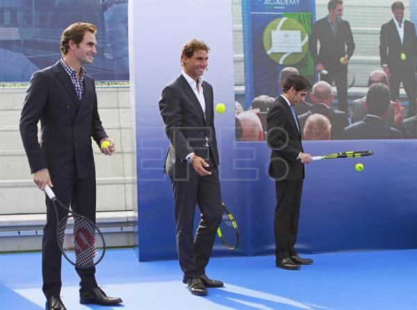 Rafael Nadal Opens His Tennis Academy With Roger Federer As Guest Of Honor Sports English Edition Agencia Efe