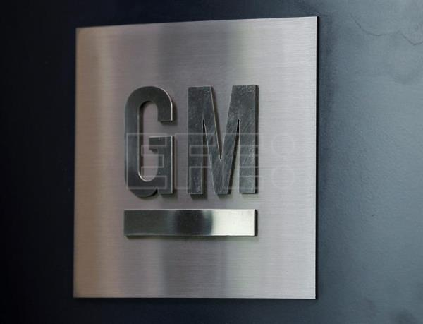 General Motors logo is displayed in their Global Headquarters at the Renaissance Center in Detroit, Michigan, USA, 12 June 2012. EPA/EFE