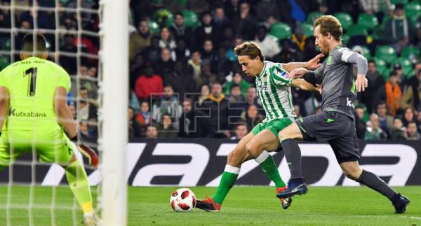 Real Sociedad hold Betis to scoreless draw in Copa del Rey