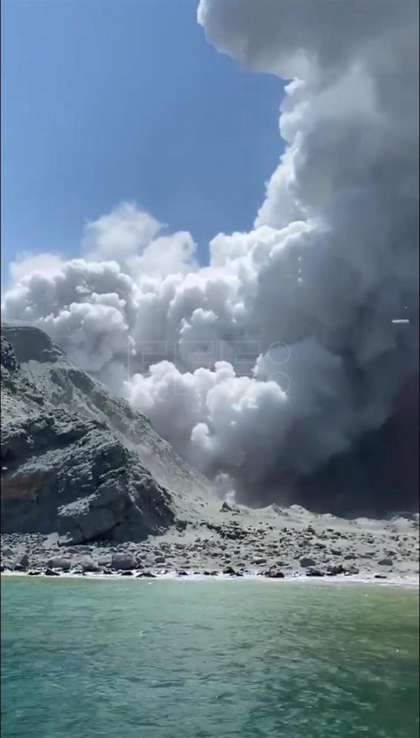 New Zealand's White Island volcano erupts