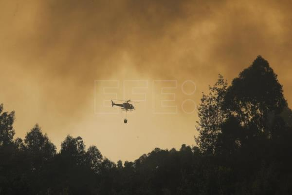 Forest fire continues to ravage southern Portugal for 4th day