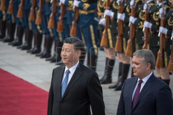 Colombian President Ivan Duque Marquez visits China