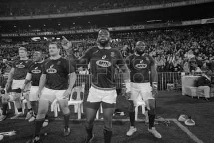 Post-apartheid South Africa celebrates Springboks' first black captain