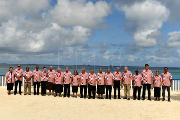 Pacific Islands Forum ends with lukewarm declaration against climate change