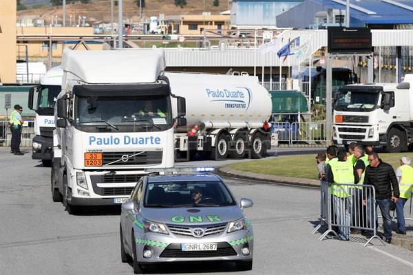 PORTUGAL STRIKE OF DANGEROUS GOODS DRIVERS