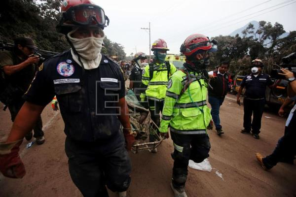 Guatemala death toll at 65 after deadly volcanic eruption
