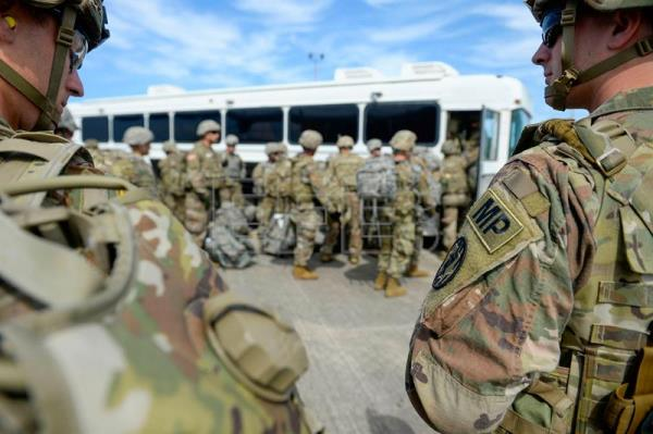 US sends additional 3,750 soldiers to border with Mexico