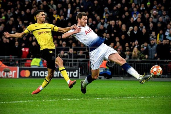 Spurs punish Dortmund 3-0 in Champions League