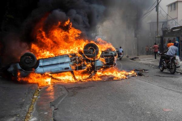 Violent protests continue in Haiti as crisis deepens