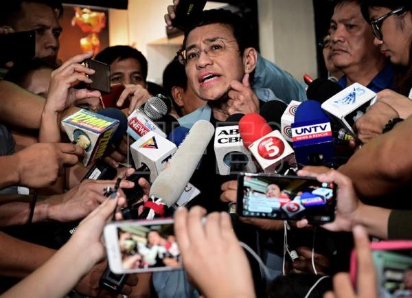 Arrest of Philippine journalist critical of Duterte causes worldwide outrage