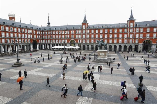 Madrid's historic Plaza Mayor celebrates its 400th