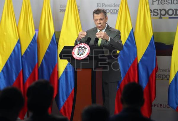 Santos thanks Trump for letter backing Colombia's war on drugs