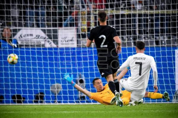 Argentina come from behind to draw 2-2 with Germany in friendly