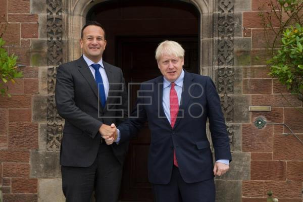 Meeting between Taoiseach and British Prime Minister Boris Johnson