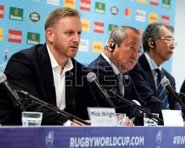 Two Rugby World Cup matches in Japan canceled due to typhoon