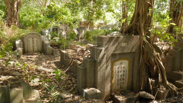 "Both the dead and the living roam Bangkok's ""haunted"" cemetery"