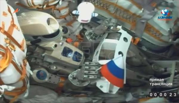 Russia launches humanoid robot on a mission to Space Station