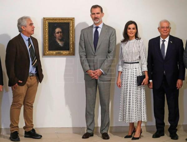 Goya comes to Havana along with Spanish monarchs