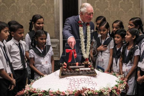 Prince Charles celebrates 71st birthday in India