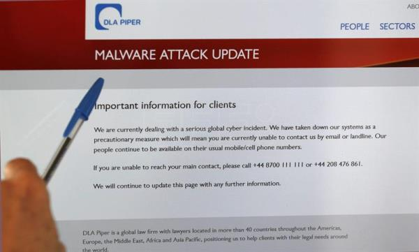 Cisco says global cyber attack is new ransomware called Nyetya