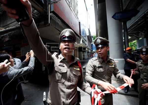9 arrested over explosions across Bangkok during ASEAN