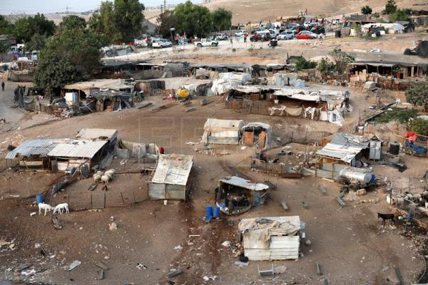 Last hours of a Palestinian village slated for demolition by Israel