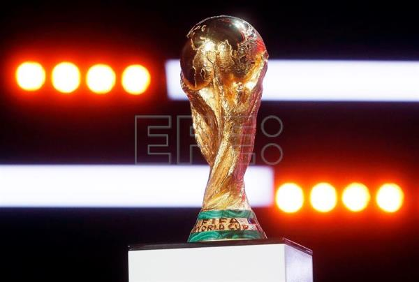 World Cup Trophy Arrives In Russia After Tour Across 51 Countries