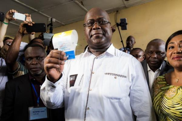 Opposition leader Tshisekedi wins presidential elections in Congo