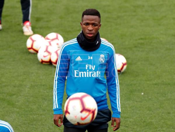 3fb2fca7fab Real Madrid s Vinicius to miss match vs Athletic Bilbao - Zidane says