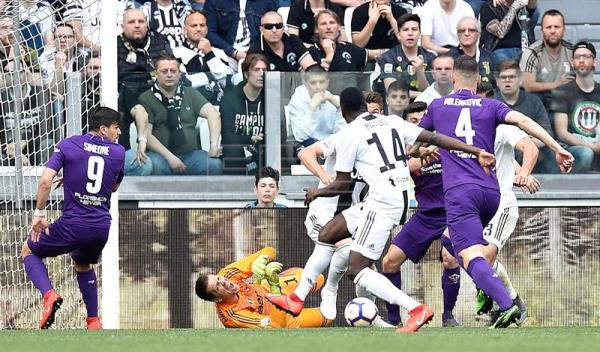 Juventus clinch 1st Serie A title of Ronaldo era