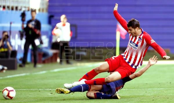 Atletico Madrid edge Eibar 1-0