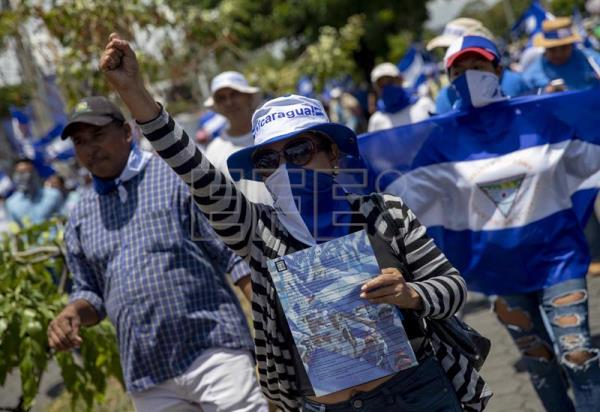 Thousands of Nicaraguans demand immediate release of political prisoners