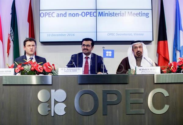 Opec Non Opec Agreement Drives Brent Oil Price Recovery To Mid 2015