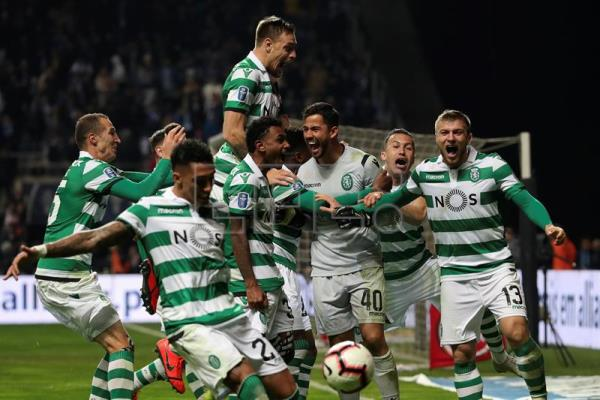 Sporting Beats Porto 1 3 In Penalty Shootout To Win Portuguese Cup Sports English Edition Agencia Efe