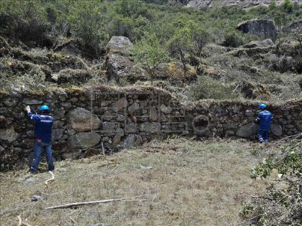 A complex of ancient Inca platforms, a storeroom and a ceremonial court were unearthed while maintenance and preservation works were underway here at Ollantaytambo archaeological park in the southern Peruvian region of Cuzco. EFE/Culture Ministry of Peru