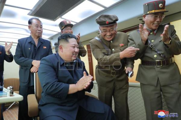 Kim supervised test of 'new weapon' in latest North Korean launch