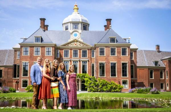 Dutch royal family poses for annual photo shoot