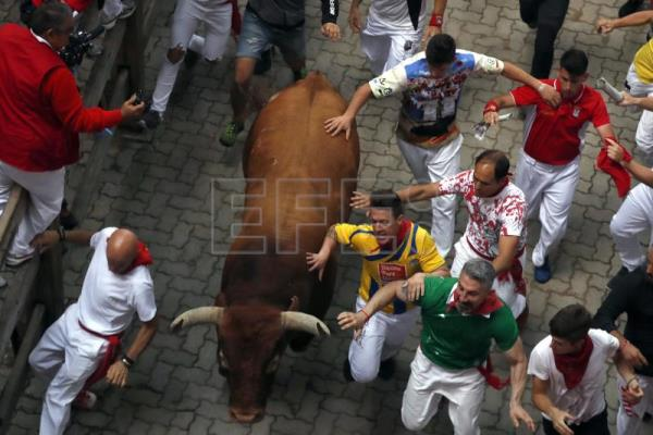 Spain's Running of the Bulls festivities draw to close for another year