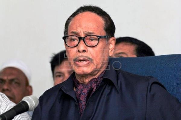 Gen Ershad, Bangladesh opposition leader and former military ruler, is dead