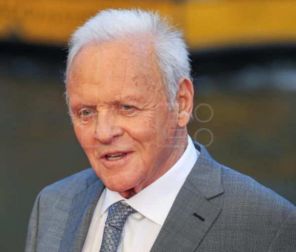 El actor británico Sir Anthony Hopkins. EFE/Archivo