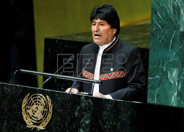 Evo Morales launches UN International Year of Indigenous Languages